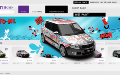 StickN'Drive : Skoda lance la voiture personnalisable