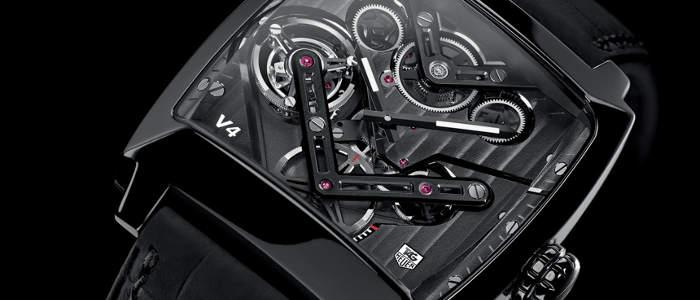 Montre Monaco V4 par TAG Heuer
